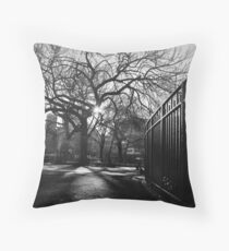 Tompkins Square Park Throw Pillow