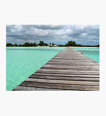 Cherokee Sound, Bahamas  Photographic Print