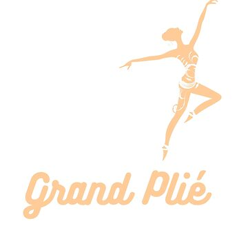 Funny Ballet T Shirt - Ballerina Plie Tee by FordBros