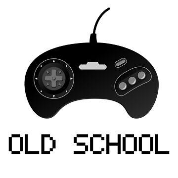 Old school - Sega Genesis Controller by null-painter