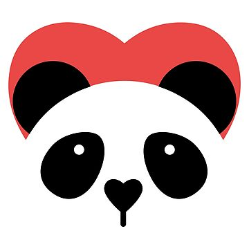 I Heart Pandas T Shirt - Cute Panda Tee by FordBros