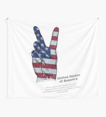 United States  of America Wall Tapestry