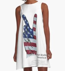 United States  of America A-Line Dress