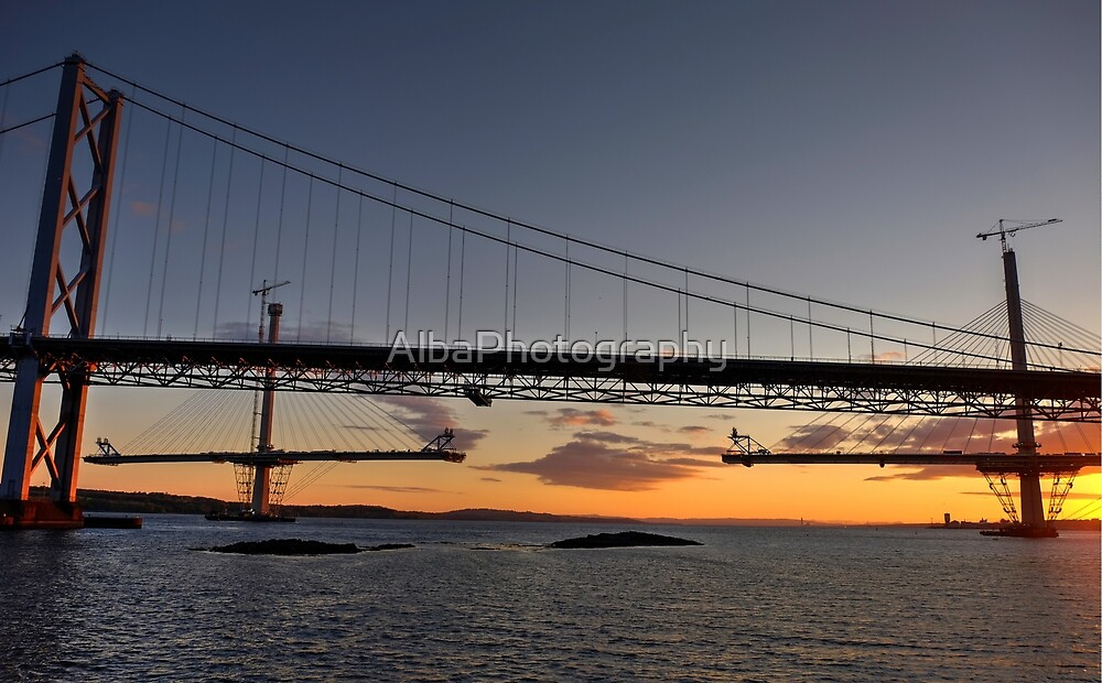 Linking The Bridges. by AlbaPhotography