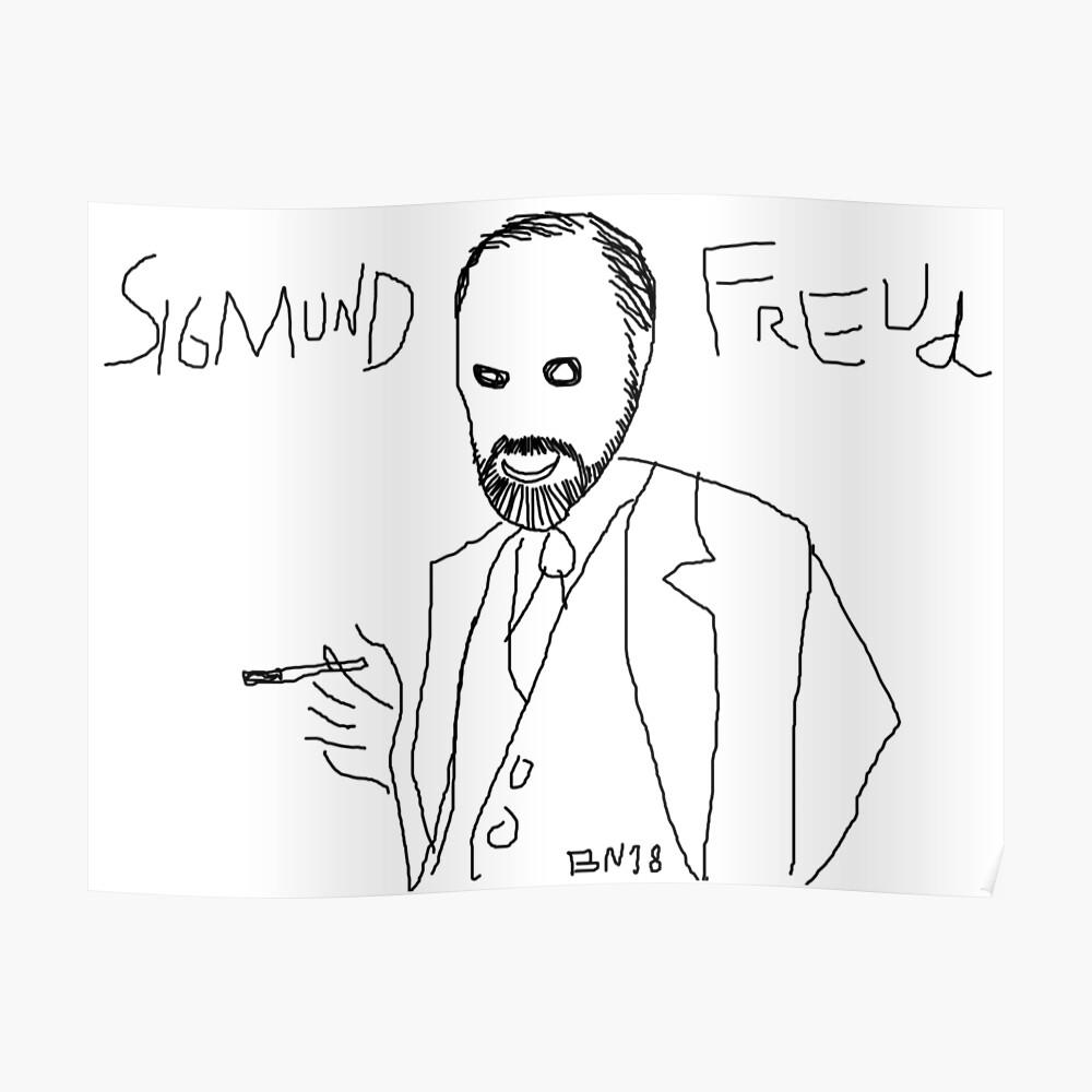 Sigmund Freud von BN18 Poster