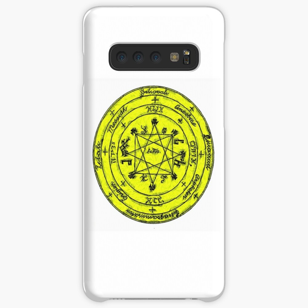 The Pentacle of Rabbi Solomon Case & Skin for Samsung Galaxy