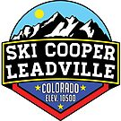 SKI COOPER LEADVILLE COLORADO SKIING by MyHandmadeSigns