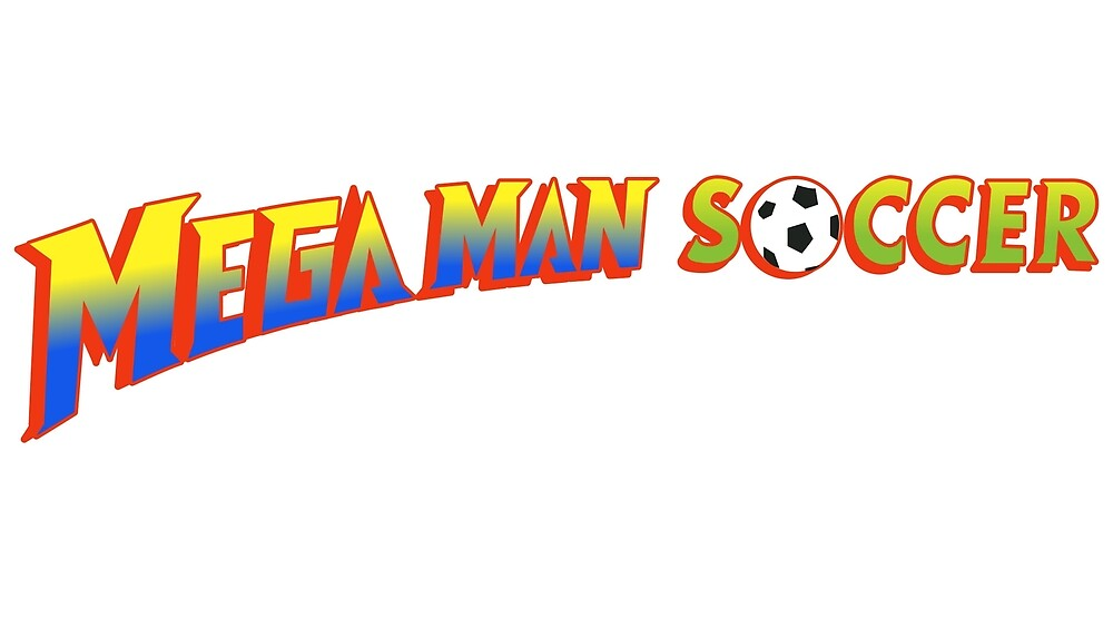 Mega Man Soccer by Delightype