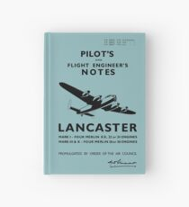 Avro Lancaster Pilot and Engineer's Notes Hardcover Journal