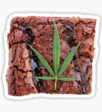 Pot Brownie Sticker