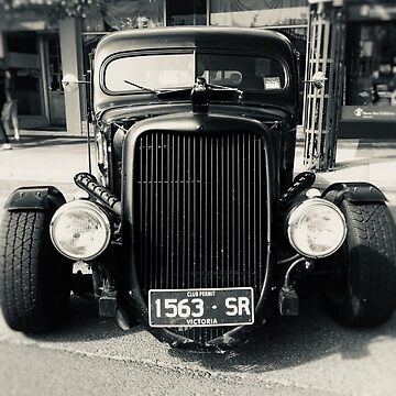 Black Rat Rod by Andyt