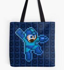 Megaman Jump Shoot Tote Bag
