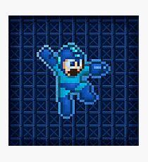 Megaman Jump Shoot Photographic Print