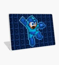 Megaman Jump Shoot Laptop Skin