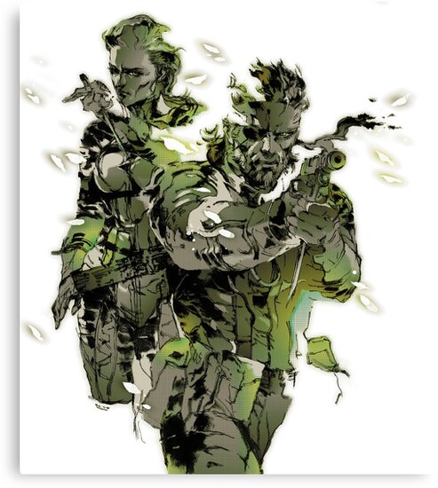 Metal Gear Solid 3 - Snake and The Boss by OrangeSquash2