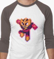 ElecMan Pixels Men's Baseball ¾ T-Shirt