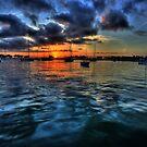 Sunrise on Vinoy Basin by sailorsedge