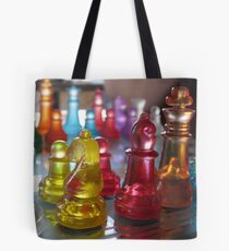 Rainbow Attack Tote Bag