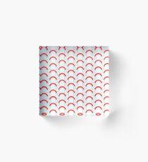 Christmas earmuffs 01 Acrylic Block