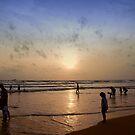 Be one with the sea by Chamika Amarasiri