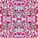 Magnolia Magic Pink Pattern Mirror 9232 by Candy Paull