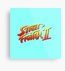 Street Fighter 2 Metal Print