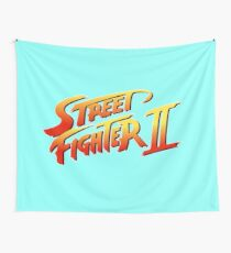 Street Fighter 2 Wall Tapestry