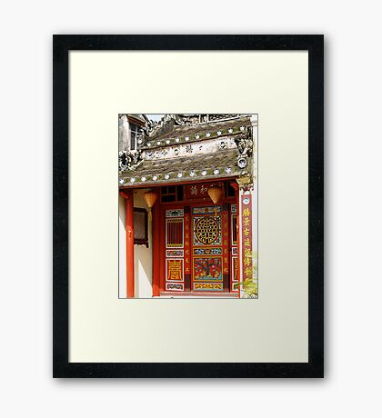 historyscapes #103, ancient china Framed Print