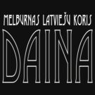 Daina | Official | Art Deco | white text by Roberts Birze