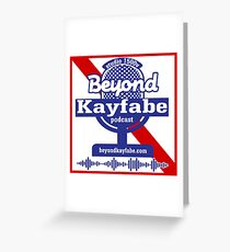 Beyond Kayfabe Podcast - Pabst Greeting Card