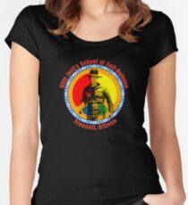 Billy Jack's School of Self Defense Women's Fitted Scoop T-Shirt