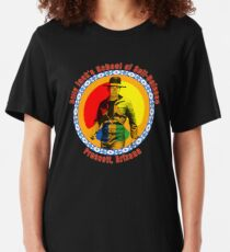 Billy Jack's School of Self Defense Slim Fit T-Shirt