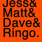 Jess & Matt & Dave & Ringo by DoGoOn