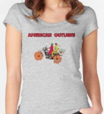 American Outlaws (Harold and Maude) Women's Fitted Scoop T-Shirt