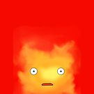 Calcifer [Howl's Moving Castle] Iphone Case by Mhaddie