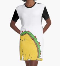 Tacocat: the cat who is a taco Graphic T-Shirt Dress