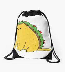 Tacocat: the cat who is a taco Drawstring Bag