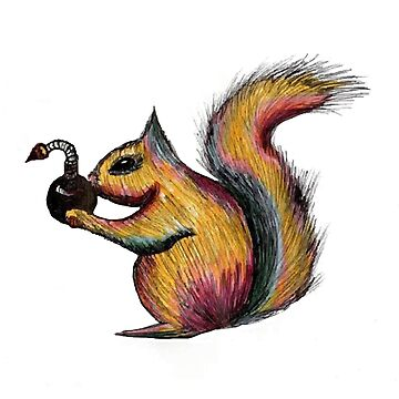 Squirrel - Bomber by hmoonindustries