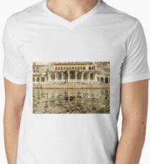 Pichola Reflection 01 Men's V-Neck T-Shirt