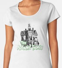 Camiseta premium para mujer La camisa de la familia Addams