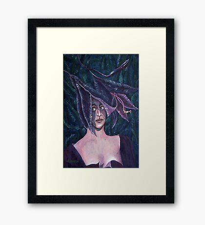 Lily Lady Framed Print