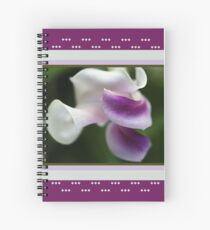 The Unusual Corkscrew Flower   Spiral Notebook