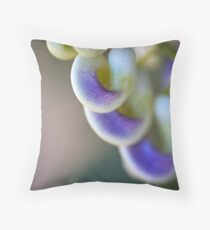 The Corkscrew Flower Throw Pillow