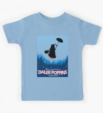 Dalek Poppins  Kids Tee