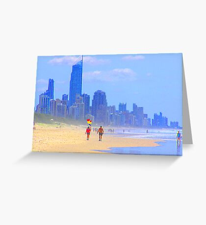 View to Surfers Paradise Greeting Card