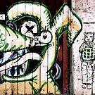 Buenos Aires Street Art by Tash  Menon