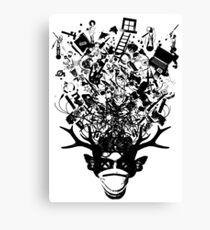 ZED Canvas Print