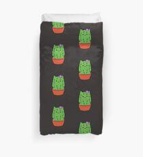 Kawaii Kaktus Kitty Cat Sukkulenten Kakteen Bettbezug
