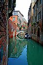 Canal Reflections by Extraordinary Light