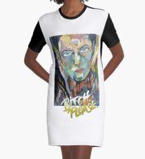 bitch please Graphic T-Shirt Dress